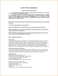 letter letter of recommendation template