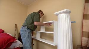 How To Make Headboard How To Make A Headboard From An Column Today S Homeowner