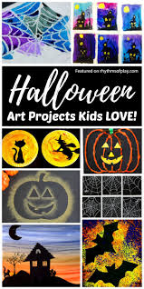 halloween art projects kids love rhythms of play