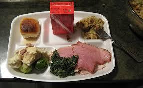my thanksgiving dinner tray doobybrain