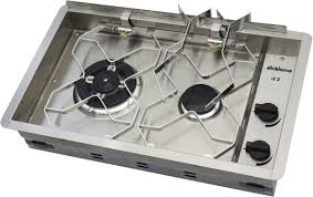 Propane Gas Cooktop Gas Stove For Boats Two Burner Dickinson
