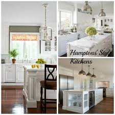 5 hamptons style kitchen designs inspired space the builder s wife 5 hamptons style kitchen designs inspired space