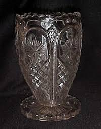 Star Vase Eapg Ornate Star Celery Vase By Tarentum Glass
