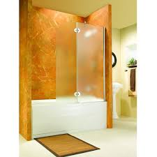 bathroom design of the corner shower doors glass with frameless