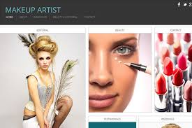 websites for makeup artists 15 beautiful portfolio website for free