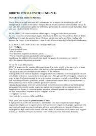dispense diritto penale analisi della fattispecie appunti di diritto penale