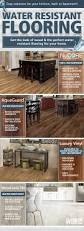 Kitchen Floor Coverings Ideas 11 Best Water Resistant Flooring Images On Pinterest Flooring