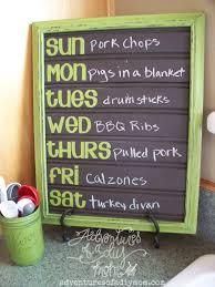 diy chalkboard beadboard menu board lullaby paint product