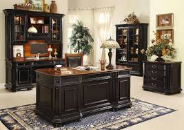 office classy home office interior decor idea with black wooden