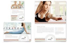 pilates yoga flyer ad template design yoga pinterest luanda