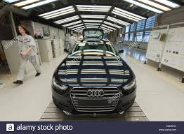 audi factory an audi a4 avant is ready for the final check on wednesday 29