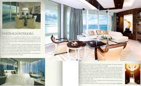 spread ad in florida design magazine