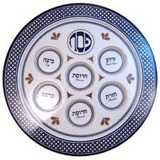 what s on a seder plate seder plate