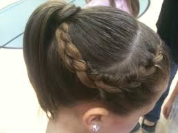 gymnastics picture hair style keep your flyaways out of your face with this adorable and simple