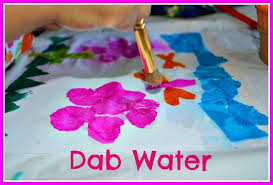 Easy Paper Craft Ideas For Kids - easy art project for kids just add water art kids play box