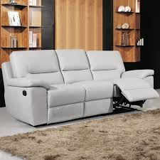 Gray Recliner Sofa Leather Reclining Sectional Sofa With Chaise The Clayton Design