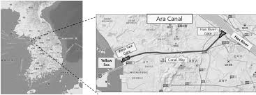 location canap fig 2 location and detail map of the study site the ara canal