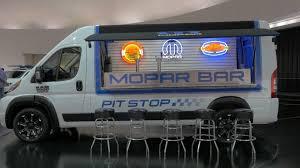 fca u0027s sema vans a ram promaster bar and a mopar u0027d pacifica autoblog