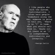 the daily review americans for liberty george carlin on