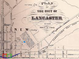 Map Of Pennsylvania Cities by The Case Of The Vanishing Cemetery Lancaster Pennsylvania U0027s