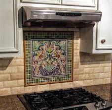 stainless steel kitchen backsplashes backsplash mural tiles for kitchen kitchen astounding kitchen