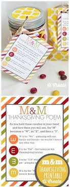 thanksgiving m m poem free printable by sarahx clever ideas