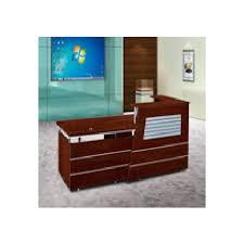 comptoir de bureau comptoir de réception en bois pour 2 personnes