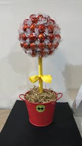 Lollipop Topiary Tree Chocolate Topiary Tree U2013 Small