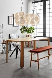 the minimal look of 45 dining table