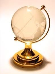2 5 new glass miniature world globe ornament