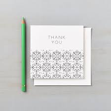 valentina personalised thank you cards says i do