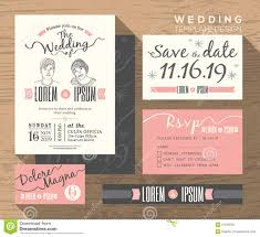 wedding card design template free download modern wedding invitation set design template stock vector image