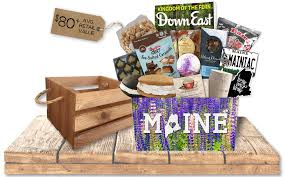 maine gift baskets seasonal maine the best made in maine gift maine made