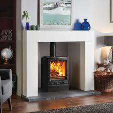 home decor amazing freestanding wood burning fireplace artistic