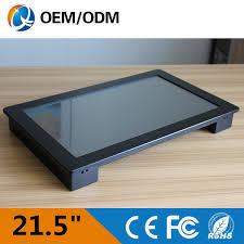 bureau pc intégré 21 5 pouce tout en un pc tactile écran résolution 1920x1280 pc