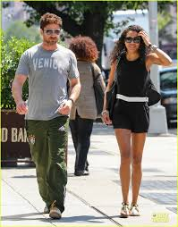 gerard butler enjoys nyc stroll with skin showing mystery woman