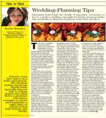 Wedding Planner Degree Wedding Planning Tips U201d For Indian Brides By Kavita Ramdya