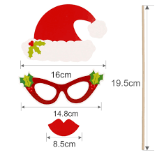 Christmas Photo Booth Props Aliexpress Com Buy Fengrise Photo Booth Props Christmas