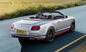 bentley v8s convertible the stylish bentley continental gt v8 s gets even better with a