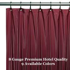 Hotel Quality Shower Curtains Hotel Weight Vinyl Shower Liner