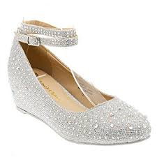 wedding shoes low heel silver silver wedding shoes