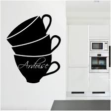 wallstickers folies coffee cup chalkboard blackboard wall coffee cup chalkboard blackboard wall stickers