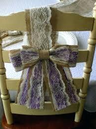 Burlap Chair Sash 100 Wedding Chair Sashes Amazon Com Silver Satin Wedding