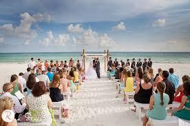Beach Wedding Carillon Beach Weddings