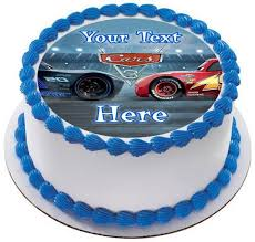 lightning mcqueen cakes disney pixar cars lightning mcqueen 3 edible cake and cupcake