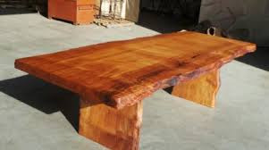 Hardwood Coffee Table Redwood Burl Inc Your Redwood Burl Furniture Source