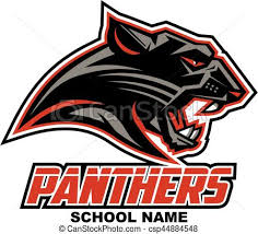 panthers mascot team design for or eps