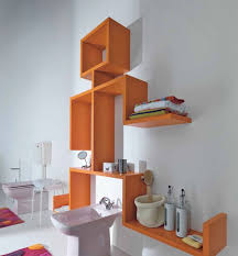 bathroom wall shelves ideas bathrooms contemporary bathroom with wall mounted shelves and