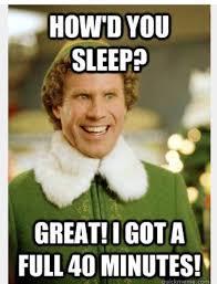 Buddy The Elf Meme - buddy the elf meme sleep mne vse pohuj