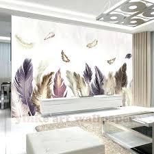 papier peint moderne chambre personnalisac 3d photo papier peint moderne dor plume papier peint
